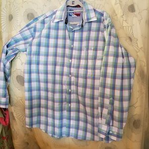 Mens George Strait by Wrangler Button Down Shirt